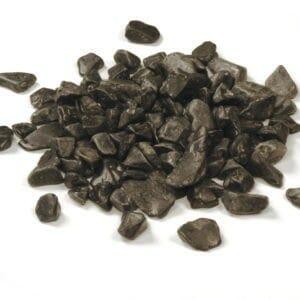 Marmorkies schwarz
