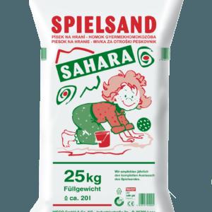 Spielsand Sahara Sack