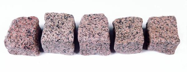 Natursteinpflaster Granit Rot Manga