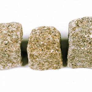 Natursteinpflaster Granit Gelb Grau