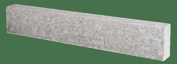 Granit Rasenkante allseitig gesägt geflammt