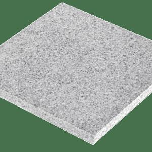 Granitplatte grau