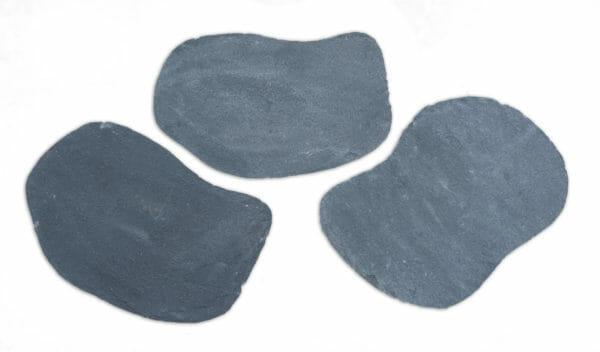 Trittplatte schwarz