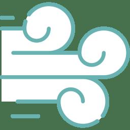 Icon Luftzirkultion